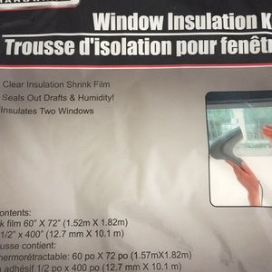 (2) Window Insulation Kits